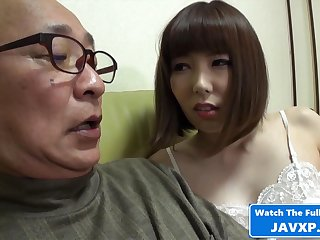 Japanese MILF Wind Horny For Grandpa