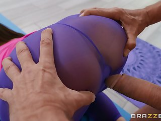 Sexy cam sex with a fit wife and an older man