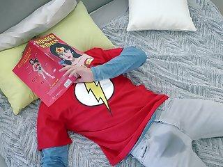 Elena Koshka as Wonder Woman gets exactly what she came be incumbent on