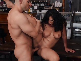 Like a dancer needs be passed on floor babe needs this penis in her pussy