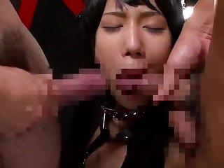 Rough facefuck for japanese schoolgirls