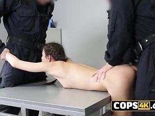 European 18yo girl is getting mistreated at jail