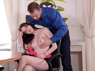 Tantalizing Coddle With High Heels Gets Copulated On every side Butt
